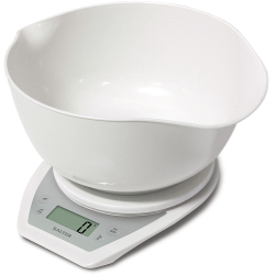 Bilancia da cucina SALTER - Bilancia da cucina elettronica 1024 WHDR Bianco