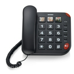 Telefono fisso Brondi - BRAVO 15 NERO