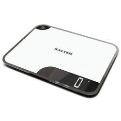 Bilancia da cucina SALTER - Bilancia elettronica a tagliere 1079 WHDR Nero, Bianco
