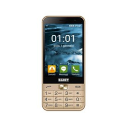 Smartphone Saiet - FACILE SMART Oro 8 GB Dual Sim Fotocamera 5 MP