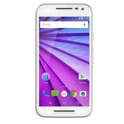 "Smartphone Motorola Moto G (3rd Gen.) - Smartphone - 4G LTE - 8 Go - microSDHC slot - GSM - 5"" - 1 280 x 720 pixels (294 ppi) - 13 MP (caméra avant de 5 mégapixels) - Android - blanc"