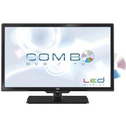 """TV LED trevi LTV 1905 HDDVD - Classe 19"""" TV LED - hôtel / hospitalité - avec lecteur DVD intégré - 720p - noir"""