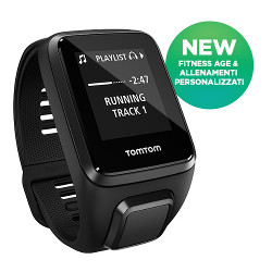 Sportwatch Tom Tom - SPARK 3 CARDIOMUSIC BLACK S