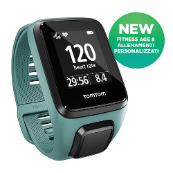 Sportwatch Tom Tom - SPARK 3 CARDIOMUSIC Aquamarine S