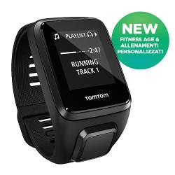 Sportwatch Tom Tom - SPARK 3 CARD-MUS Bluetooth BLACK S