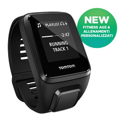 Sportwatch Tom Tom - Spark 3 Music + Bluetooth Black