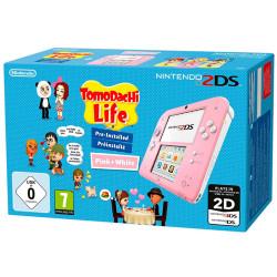 Image of Console 2DS Rosa Bianco + Tomodachi Life