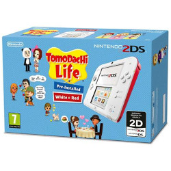 Image of Console 2DS Bianco Rosso + Tomodachi Life