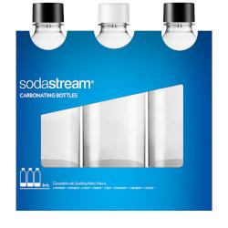 Bottiglia filtrante SODASTREAM - Bottiglie per gasatore, PET, confezione da 3x1 Lt