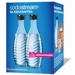 Bottiglia SODASTREAM - 2 Bottiglie in vetro per Sodastream