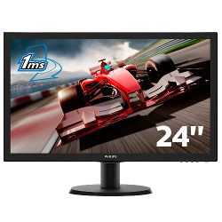 Monitor LED Philips - 243v5lhab5