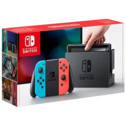 Console Switch Joy Con Neon Rosso e Blu