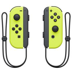 Controller Nintendo - Set 2 Joy-Con Giallo Neon