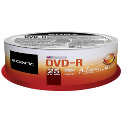 Sony - Dvd-r 16x spindle bulk