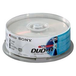 Sony - Dvd+r x 25 - 4.7 gb - supporti di memorizzazione 25dpr47sb