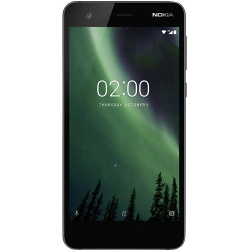 Smartphone Nokia - 2 Nero 8 GB Dual Sim Fotocamera 8 MP