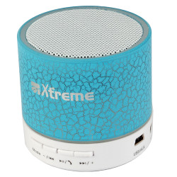 Speaker wireless Fellowes - Xtreme Gamma Mono Bianco e Azzurro