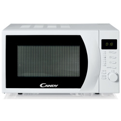Micro ondes Candy CMW2070DW - Four micro-ondes monofonction - pose libre - 20 litres - 700 Watt - blanc