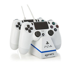 Controller ITWAY - Charge plus white ps4