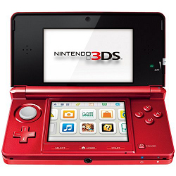 Console Nintendo - Nintendo Console 3DS Metallic Red
