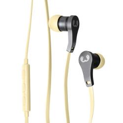 Auricolari con microfono Fresh 'n Rebel - Lace Earbuds Buttercup