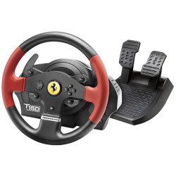 Volante + Pedali Thrustmaster - T150 Ferrari Wheel Force Feedback PC/PS3/PS4