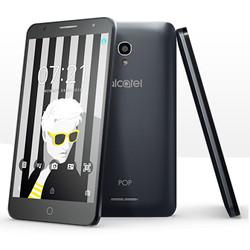 """Smartphone Alcatel POP 4 5056D - Smartphone - double SIM - 4G LTE - 16 Go - microSDHC slot - GSM - 5.5"""" - 1 280 x 720 pixels - IPS - 8 MP (caméra avant de 5 mégapixels) - Android - ardoise"""