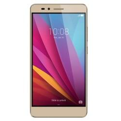 """Smartphone Honor 5X - Smartphone - double SIM - 4G LTE - 16 Go - microSDXC slot - GSM - 5.5"""" - 1 920 x 1 080 pixels (400 ppi) - IPS - 13 MP (caméra avant de 5 mégapixels) - Android - or soleil"""