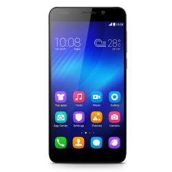 "Smartphone Honor 6 - Smartphone - 4G LTE - 16 Go - microSDHC slot - GSM - 5"" - 1 920 x 1 080 pixels (445 ppi) - RAM 3 Go - 13 MP (caméra avant de 5 mégapixels) - Android - noir"