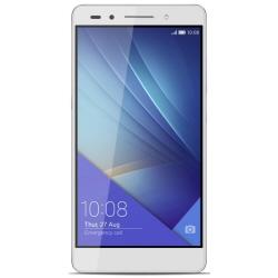 """Smartphone Honor 7 - Smartphone - double SIM - 4G LTE - 16 Go - microSDXC slot - GSM - 5.2"""" - 1 920 x 1 080 pixels (424 ppi) - IPS-NEO - 20 MP (caméra avant de 8 mégapixels) - Android - argent fantaisie"""