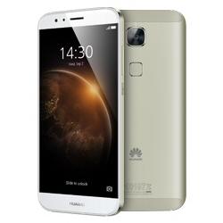 """Smartphone Huawei G8 - Smartphone - double SIM - 4G LTE - 32 Go - GSM - 5.5"""" - 1 920 x 1 080 pixels - TFT - 13 MP (caméra avant de 5 mégapixels) - Android - argenté(e)"""