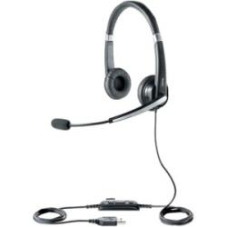 Jabra UC Voice 550 MS Duo - Casque - sur-oreille - noir