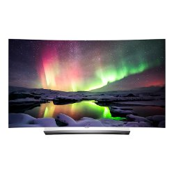 TV OLED LG - Smart 55C6V Ultra HD 4K Curvo