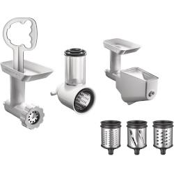 Kit accessori KitchenAid - Tritacarne + Grattugia inclusa + Passino 5KSMFPPC