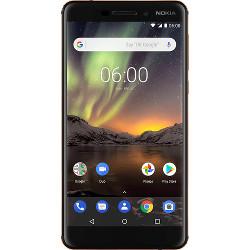 Smartphone Nokia - Nero-Rame 6.1 32 GB Dual Sim Fotocamera 16 MP