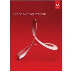 Software Adobe - ACROBAT PROFESSIONAL 2017 WINDOWS 1 Utente