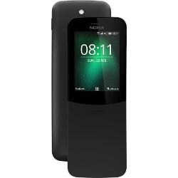 Smartphone Nokia - 8110 4G Nero 4 GB Dual Sim Fotocamera 2 MP
