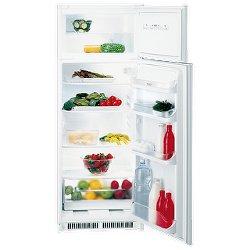 Réfrigérateur encastrable Hotpoint Ariston BDFS 242 AA - Réfrigérateur/congélateur - intégrable - niche - largeur : 56 cm - profondeur : 55.5 cm - hauteur : 144.3 cm - 219 litres - congélateur haut - classe A+ - blanc