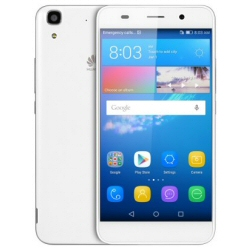 "Smartphone Huawei Y6 - Smartphone - 4G LTE - 8 Go - microSDHC slot - GSM - 5"" - 1 280 x 720 pixels - IPS - 8 MP (caméra avant de 2 mégapixels) - Android - blanc"