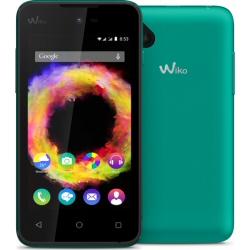"""Smartphone Wiko Sunset 2 - Smartphone - double SIM - 3G - 4 Go - microSDHC slot - GSM - 4"""" - 800 x 480 pixels (96 ppi) - TFT - 2 MP (caméra avant de 1,3 mégapixels) - Android - mélange de bleu et de vert"""