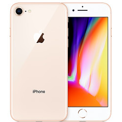 Smartphone Apple - iPhone 8 Gold 256 GB Single Sim Fotocamera 12 MP