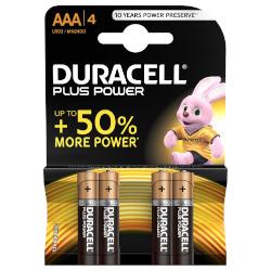 Pila Duracell - 4 ministilo Plus Power AAA