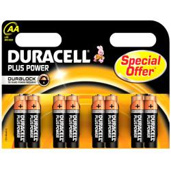 Pila Duracell - Plus Power AA 1.5V, 8 stilo
