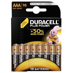 Pila Duracell - Plus AAA Ministilo- Confezione da 16 pezzi