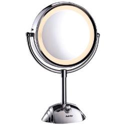 Specchio BABYLISS - Specchio luminoso circolare double-face 8438E