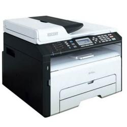 Imprimante laser multifonction Ricoh SP 213SFNw - Imprimante multifonctions - Noir et blanc - laser - A4 (210 x 297 mm) (original) - A4 (support) - jusqu'à 22 ppm (impression) - 150 feuilles - 33.6 Kbits/s - USB 2.0, LAN, Wi-Fi(n)