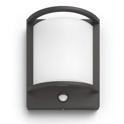 Lampada a muro Philips - SAMONDRA in Alluminio 2700K col. Antracite