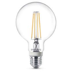 Lampadine LED Philips - Classic Globo E27, 7 W, 3 Pezzi, dimmerabile