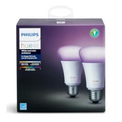 Lampadine Smart LED Philips - Hue White and Color E27 2 Pezzi