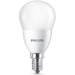 Lampadina LED Philips - Sfera bianco caldo E14, 60W
